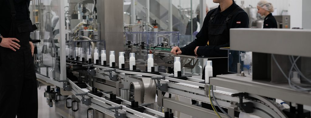自动化装盒机流水线